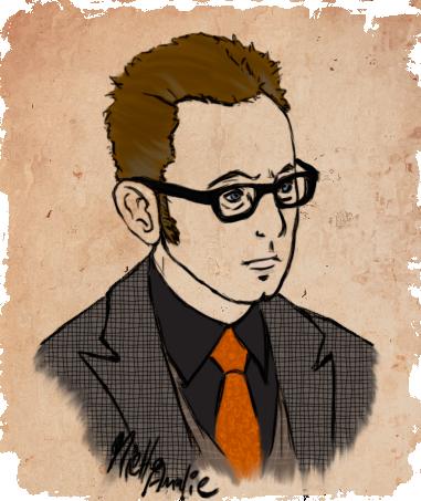 Person of Interest :: Harold Finch Portrait