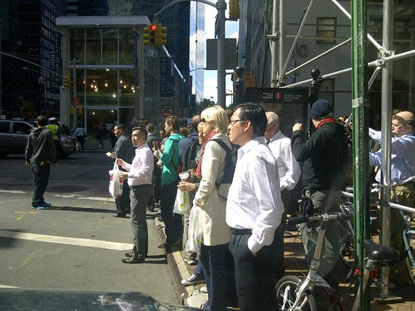 Fans Gather to Watch Season Two Being Filmed in New York