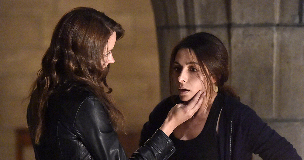 Root and Shaw had a sexy reunion on Person Of Interest.