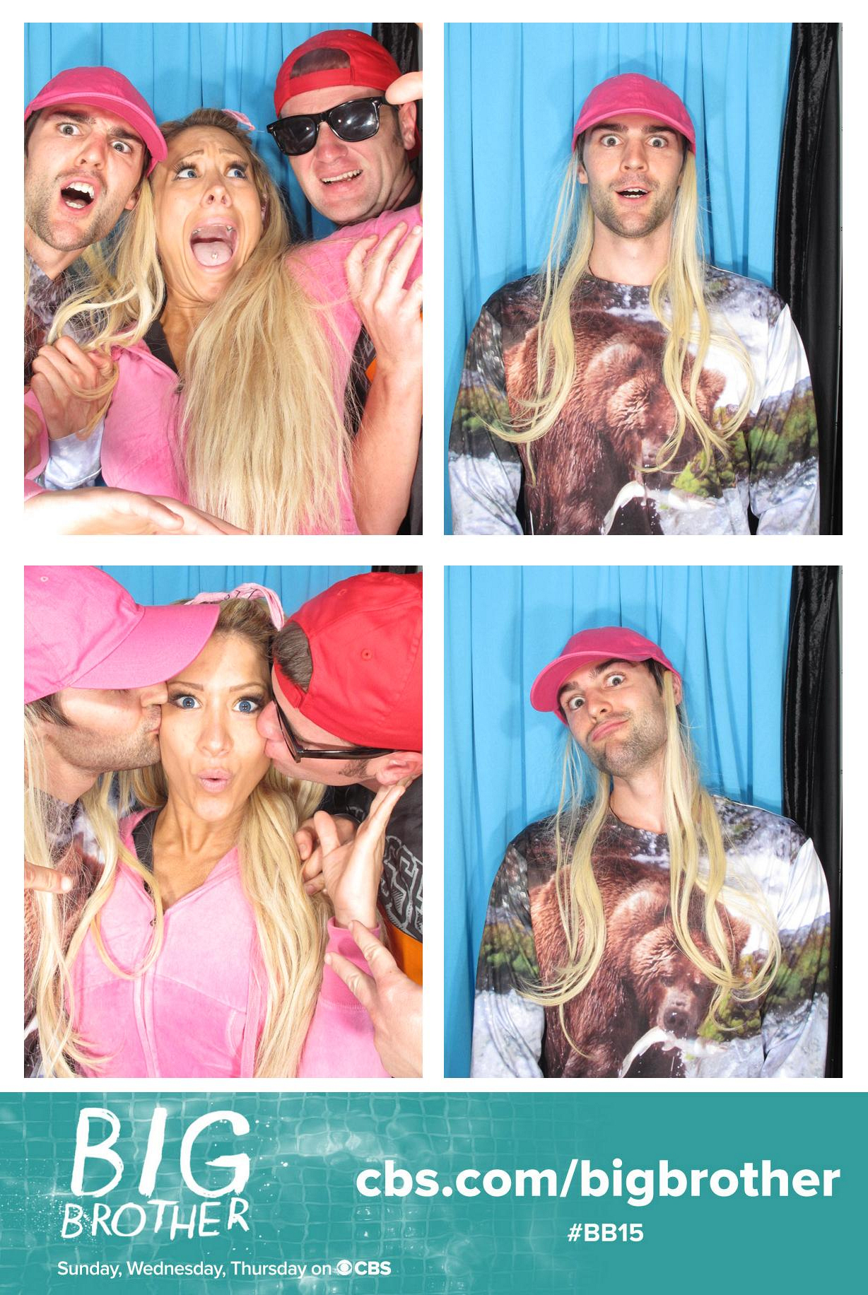 Having Fun in the Photo Booth