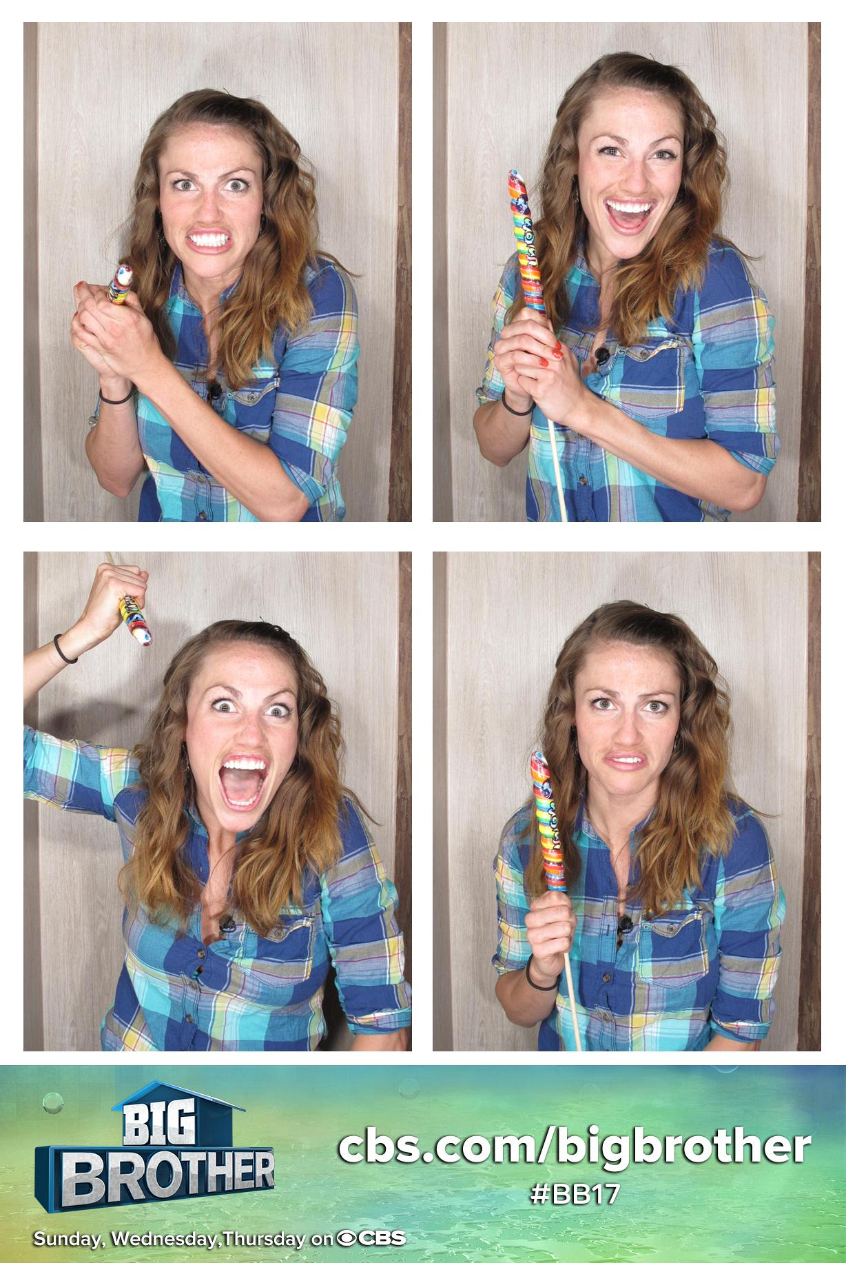 Becky brings a variety of lollipop looks