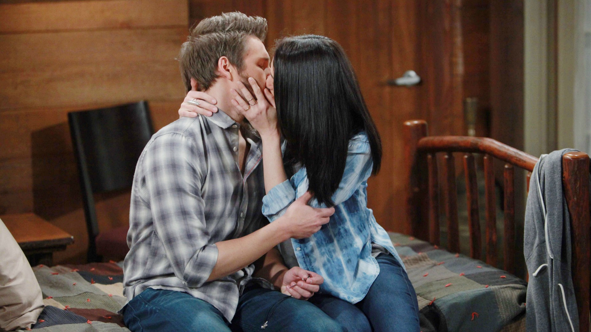 Quinn fell in love with Liam on The Bold and the Beautiful.