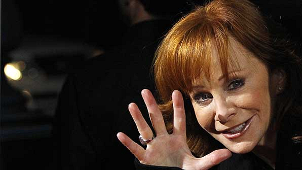 Reba hosted the ACM Awards 14 times.