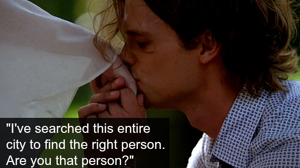 Reid was Prince Charming, but we already knew that.