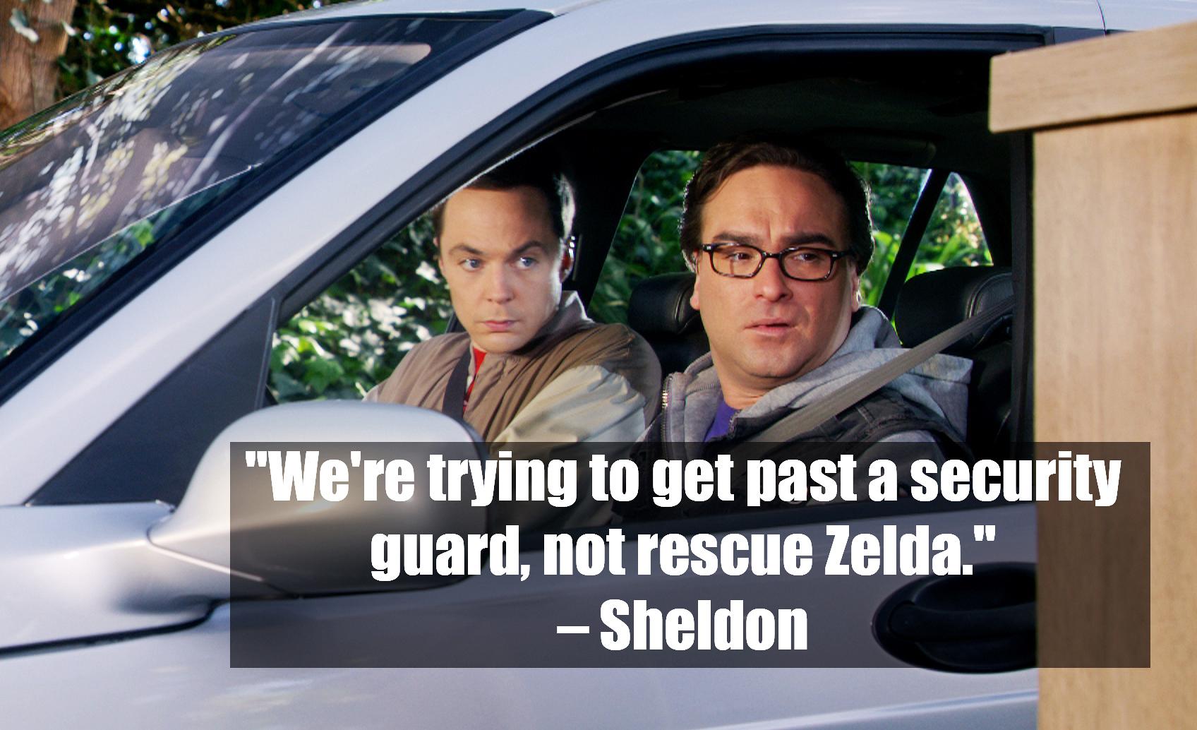 Sheldon Cooper – <i>The Big Bang Theory</i>