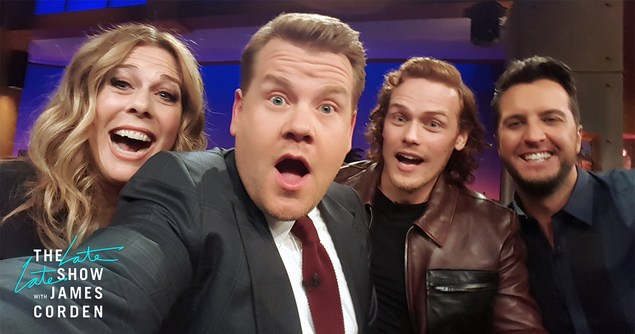 Rita Wilson, Sam Heughan and Luke Bryan