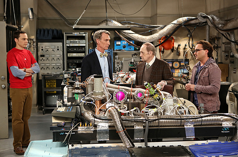 Befriend Bill Nye to use as an ally in a scientific standoff.