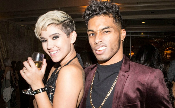 The Bold and the Beautiful's Rome Flynn and girlfriend Camia Marie
