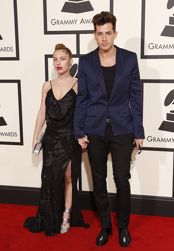 GRAMMYs 2016: Mark Ronson and guest