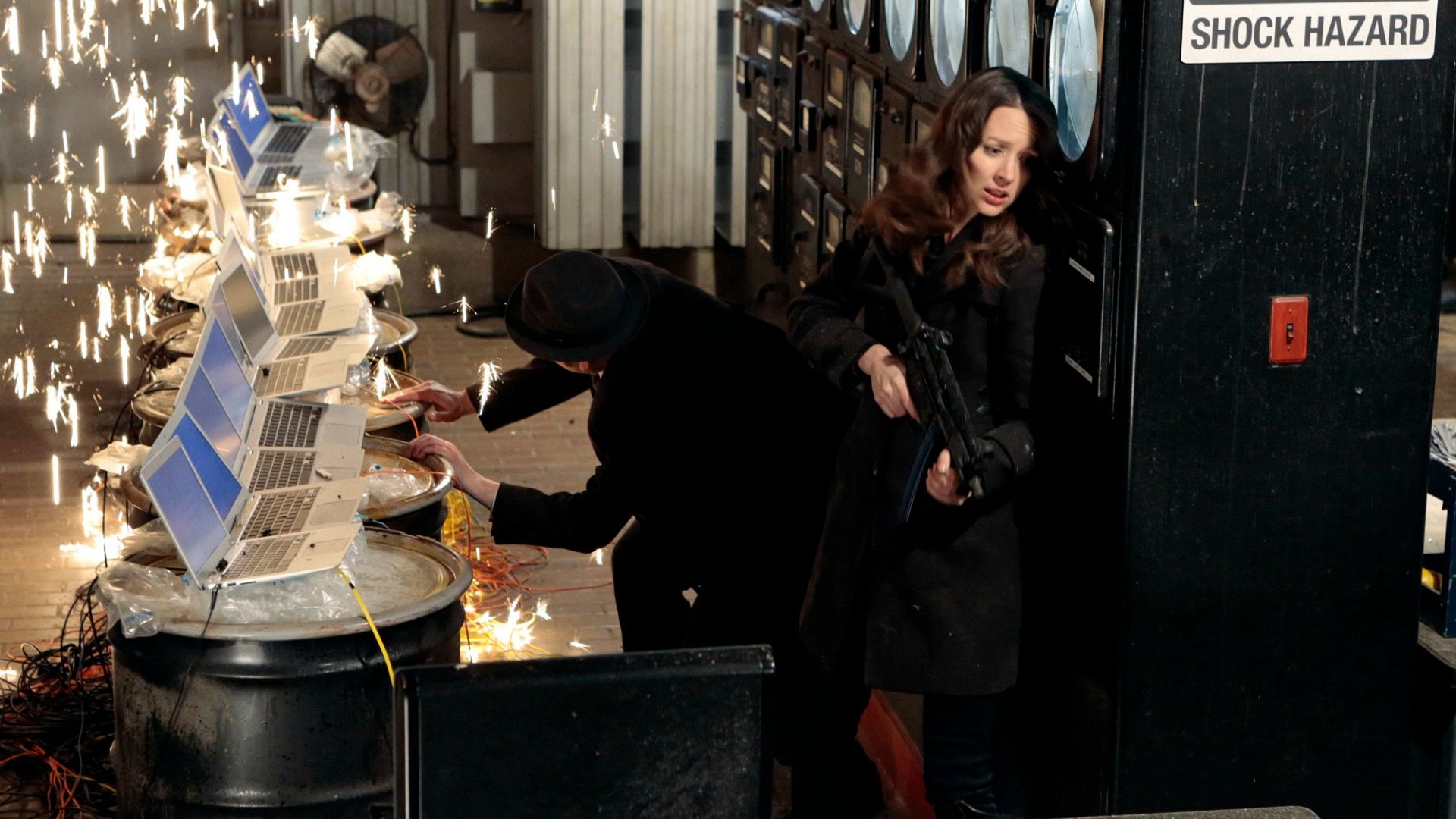 Root pulled out all the stops to protect herself and The Machine.