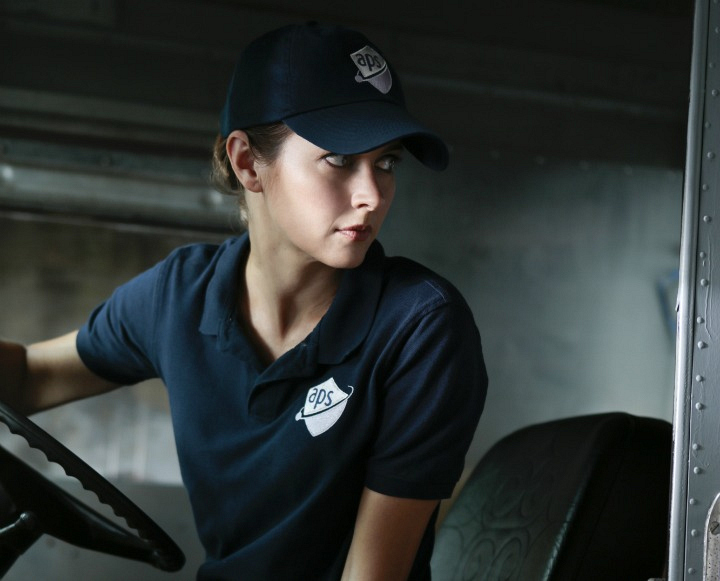 Root gets behind the wheel as a delivery driver.