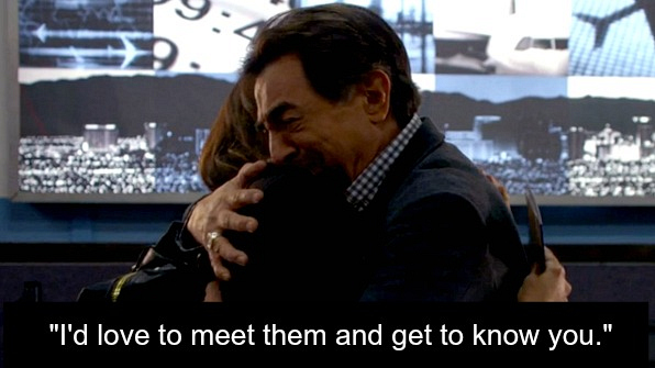 Rossi finds out the he has a daughter—and a grandson.