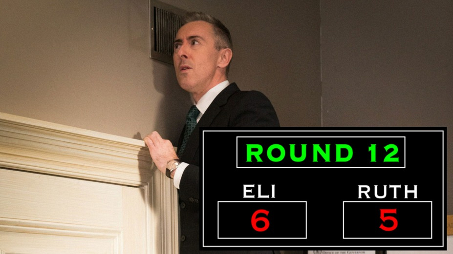 Round 12: Eli Tries To Turn Peter's Loss Into His Own Win