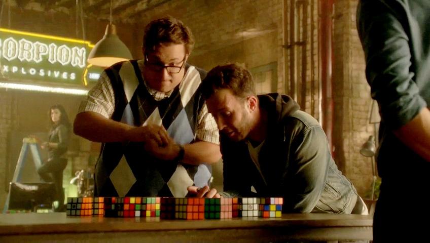 Have a Rubix Cube race.