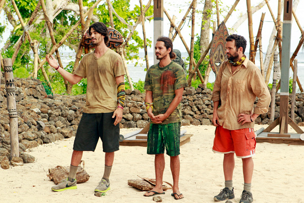 The Three Sent to Redemption Island