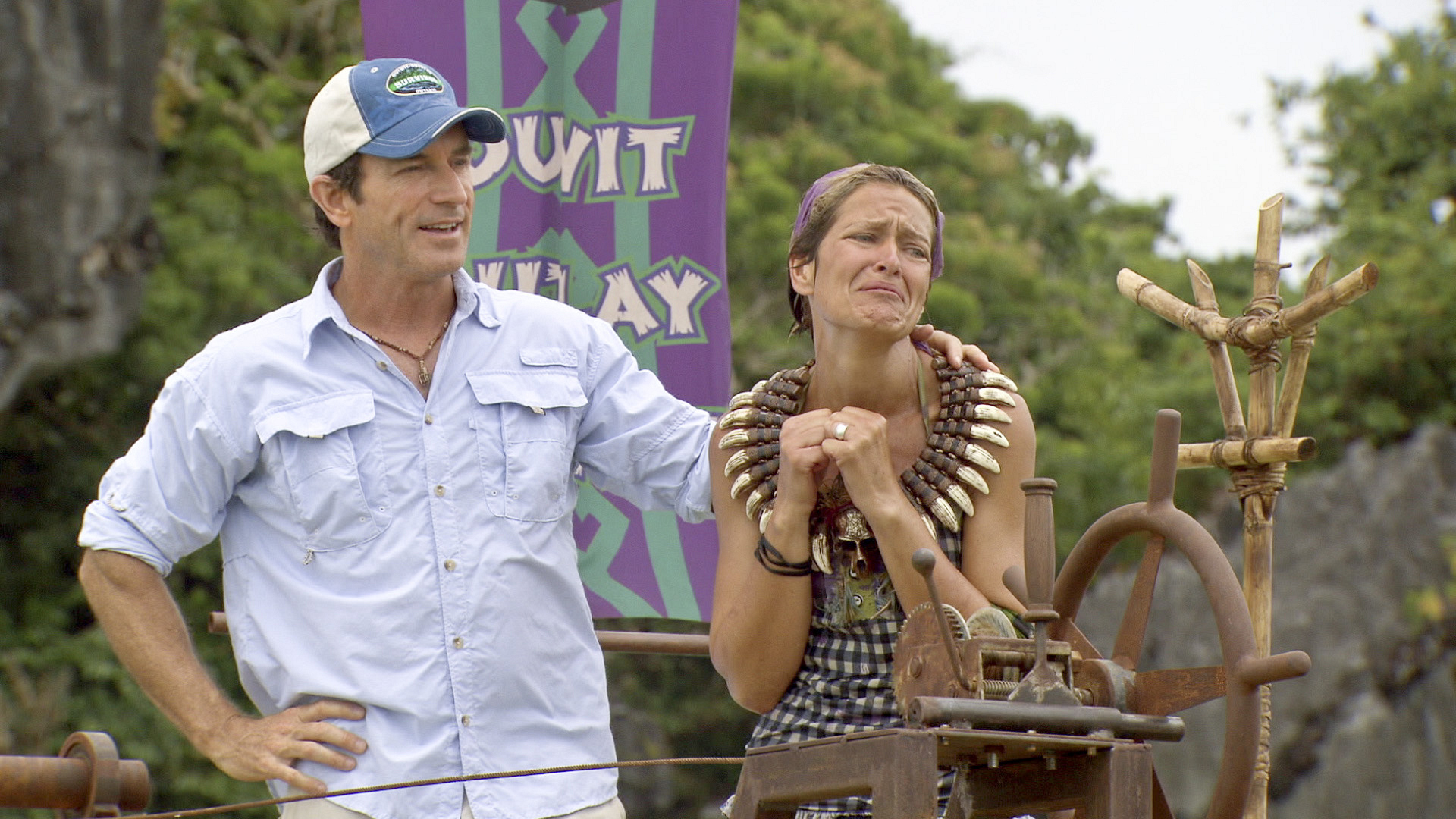 "Dawn wins immunity in ""Don't Say Anything About My Mom"" Episode 13 of Season 26"