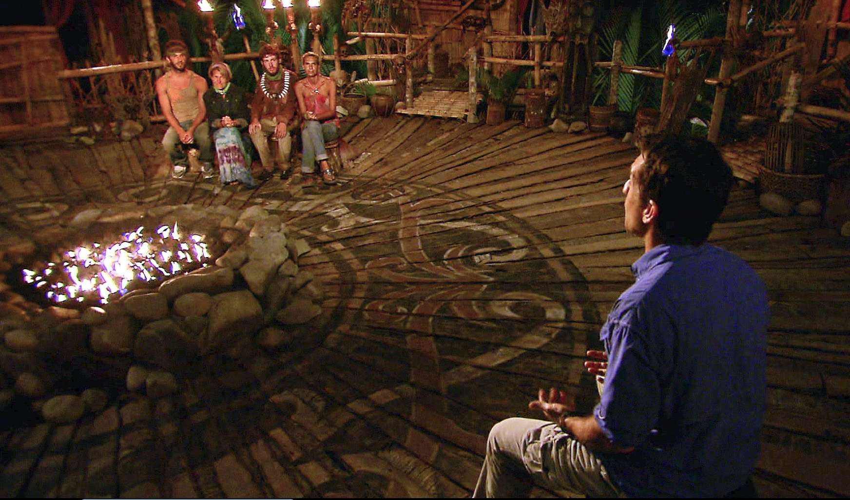 "Tribal Council in the Season 26 Finale ""Last Push"""