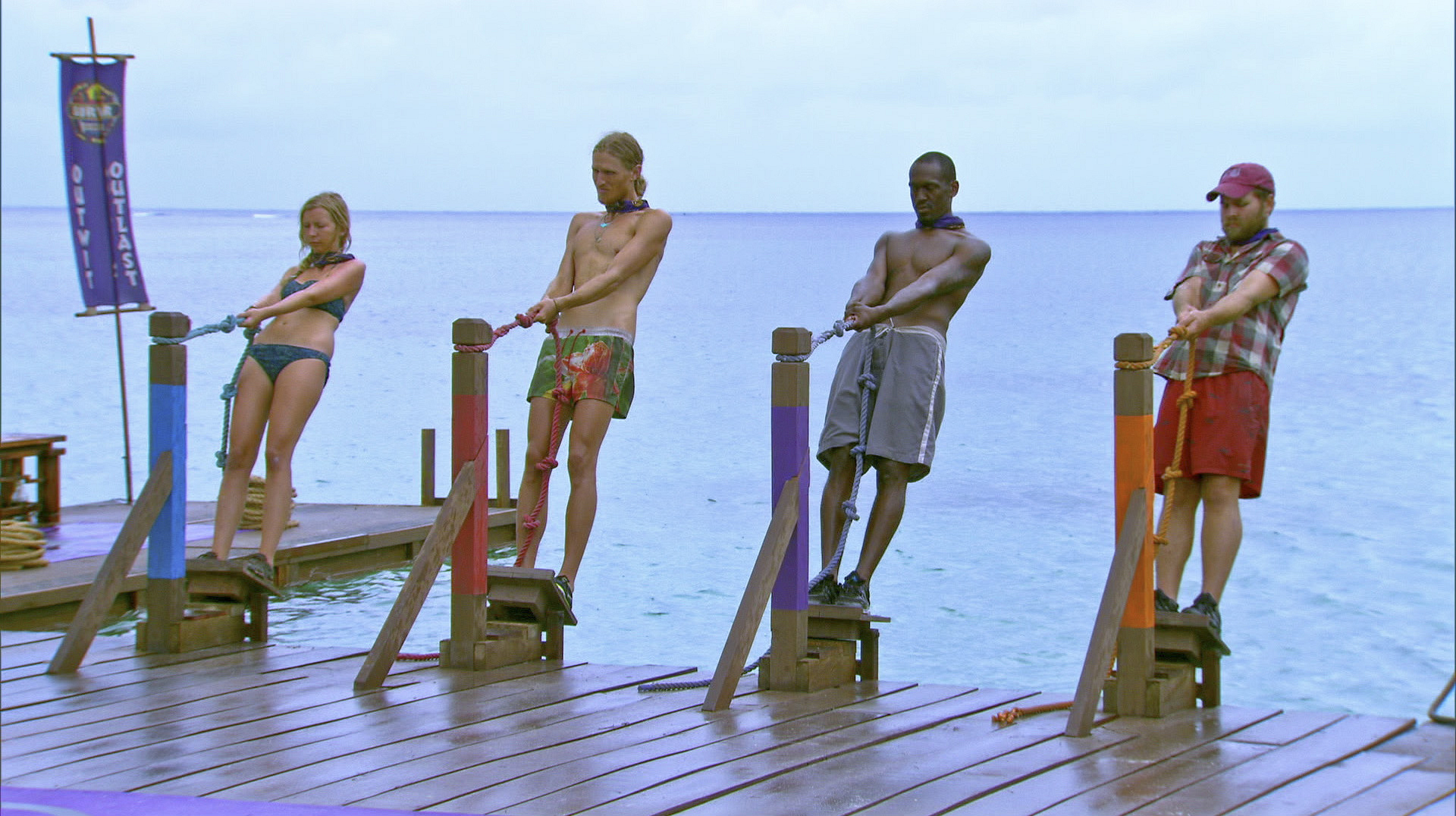 Competing in immunity in Season 27 Episode 10