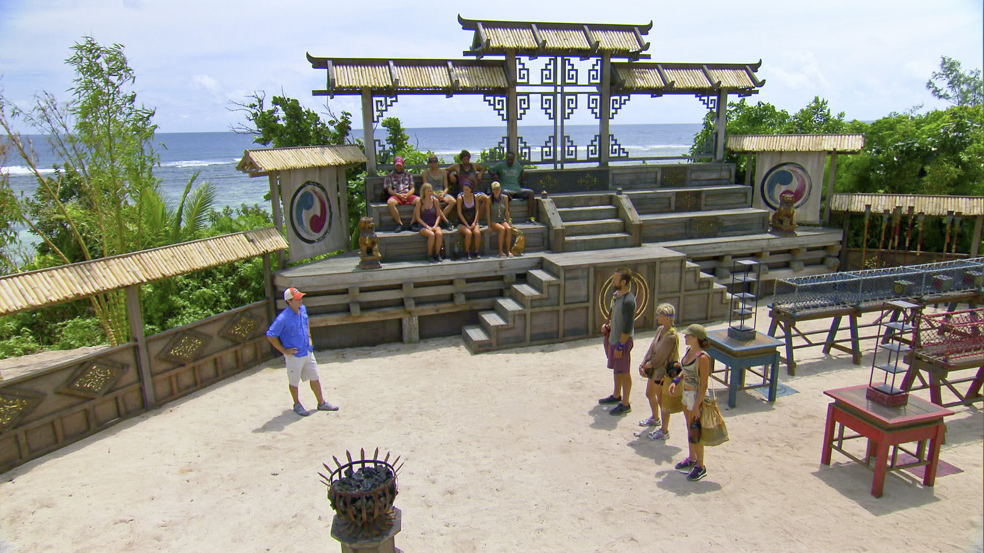Redemption Island arena in Season 27 Episode 11