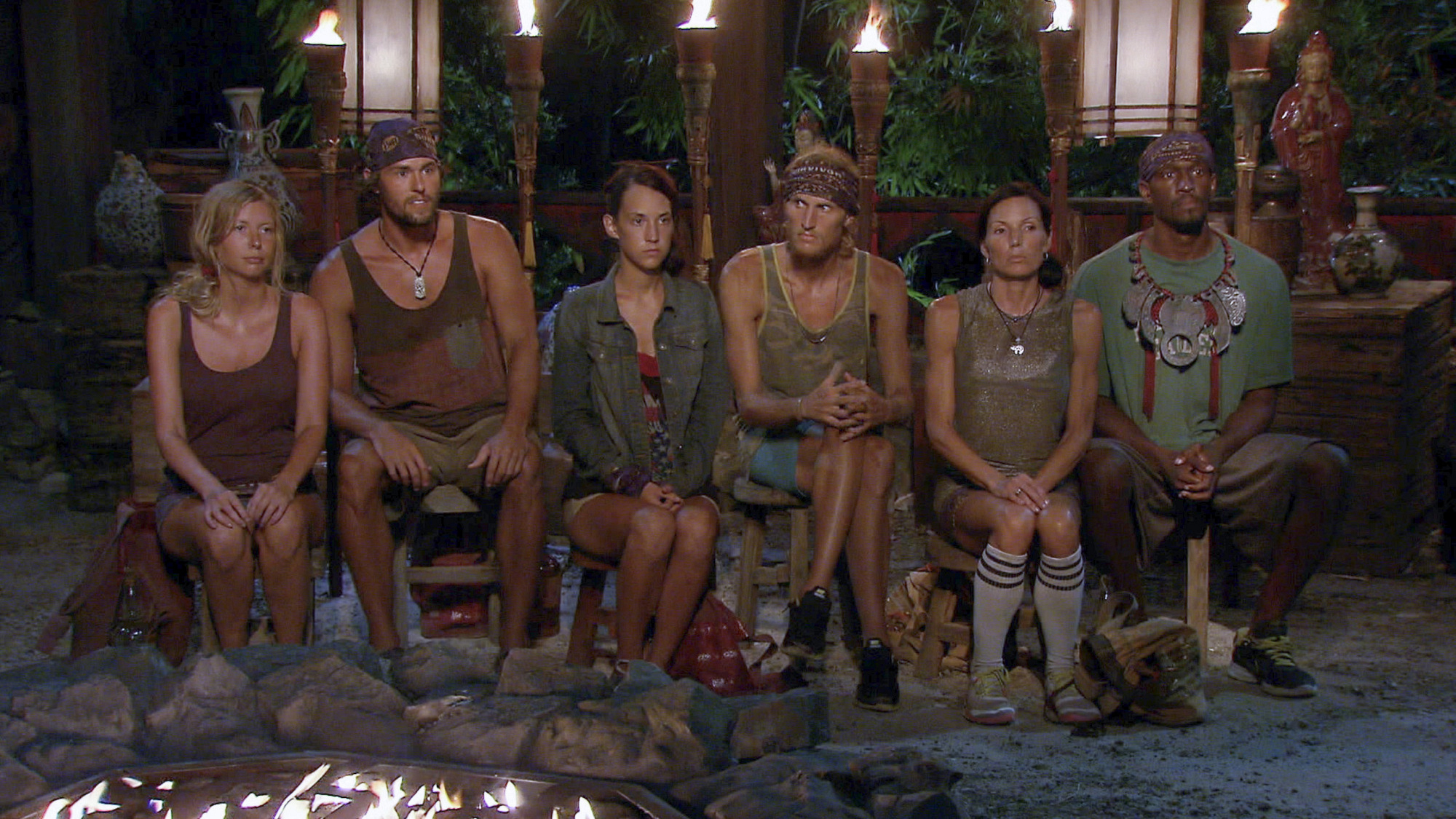 Tribal Council in Season 27 Episode 12