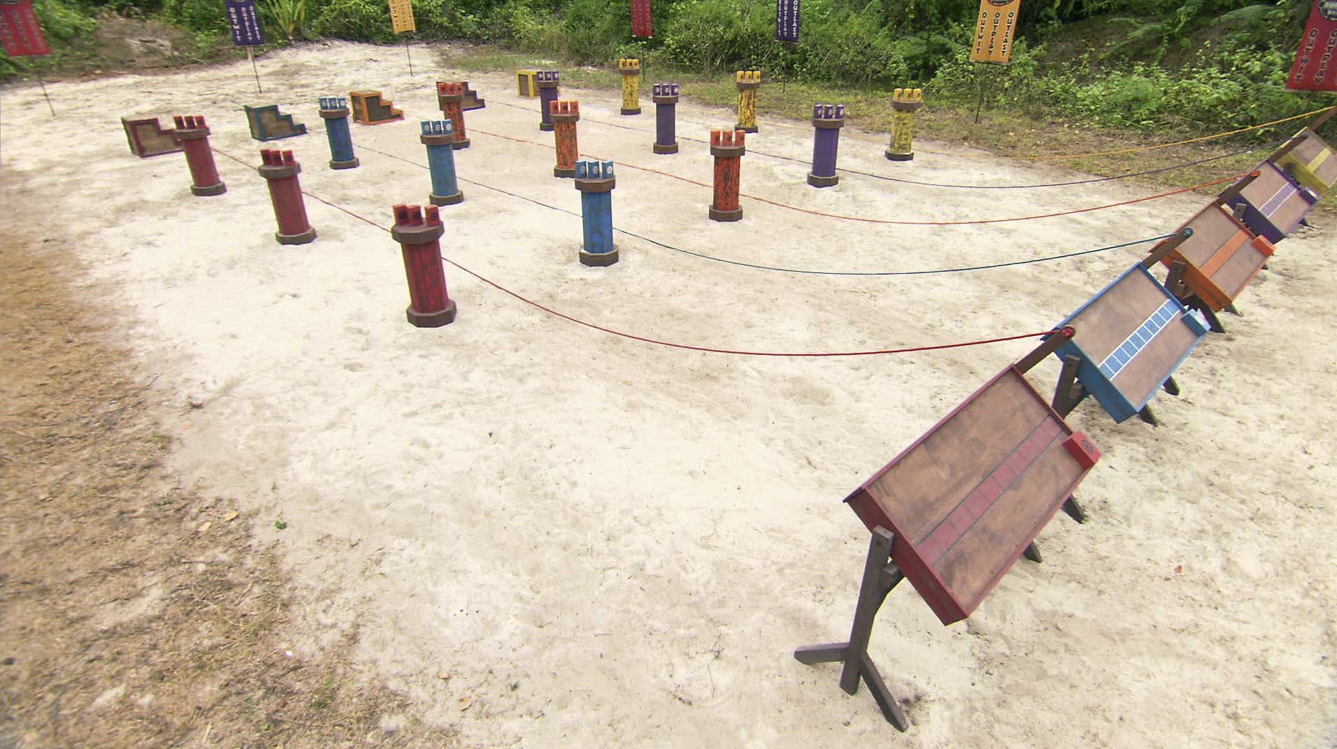 Immunity challenge in the Season 27 Finale