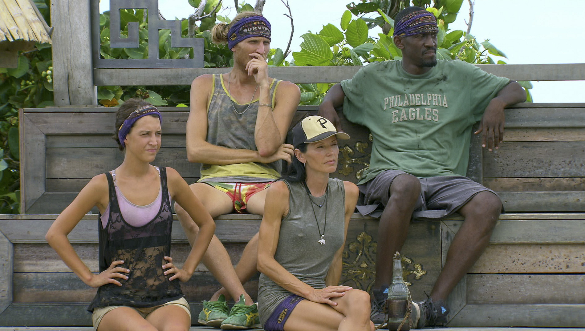 Ciera, Tyson, Monica and Gervase in the Season 27 Finale