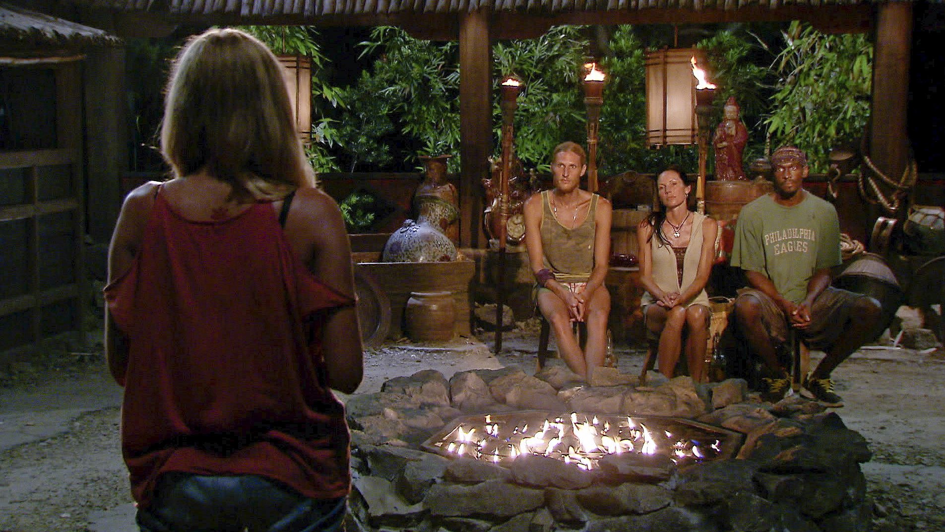 Katie addresses the final three in the Season 27 Finale