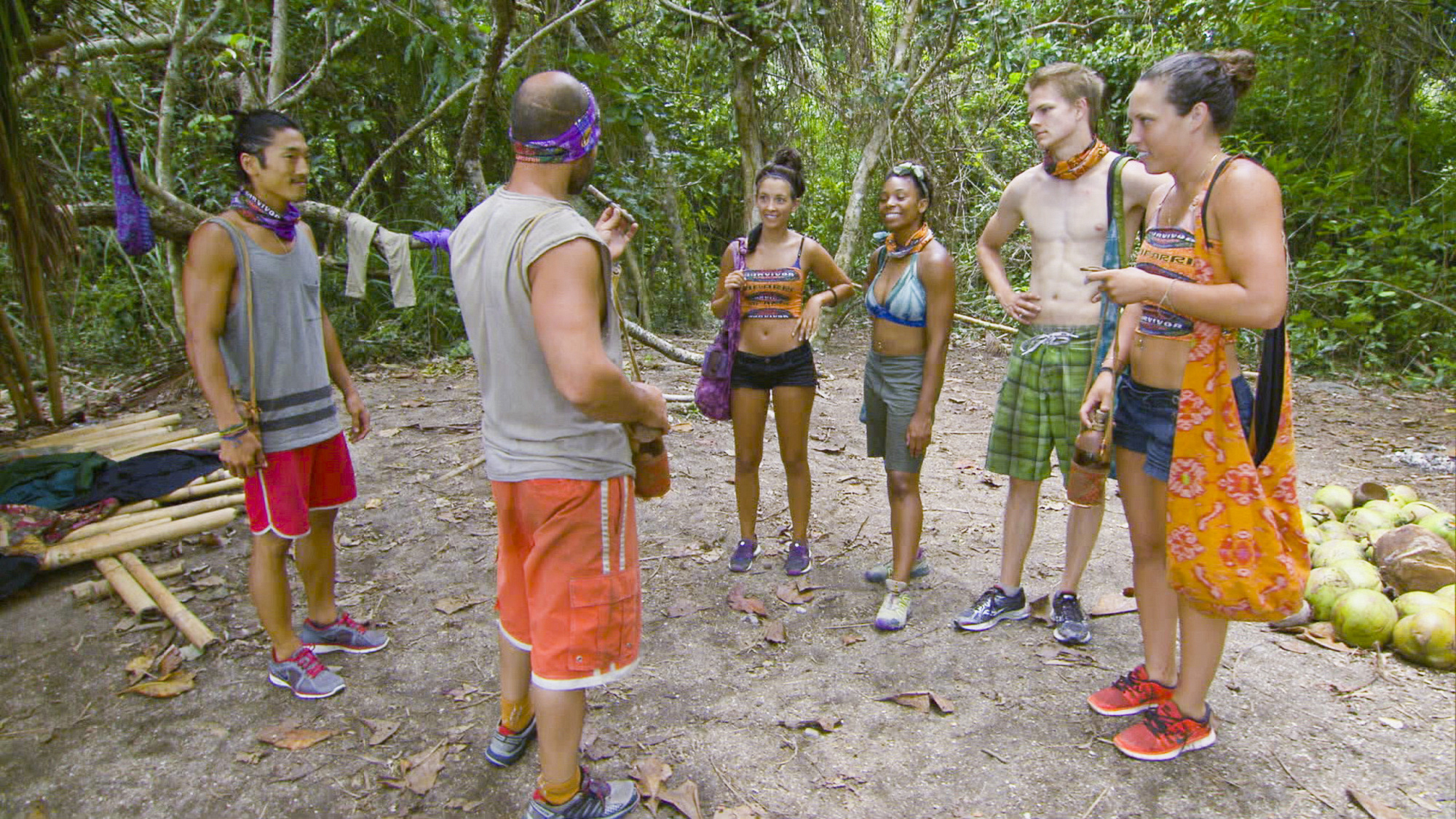 Tribe raid in Season 28 Episode 5