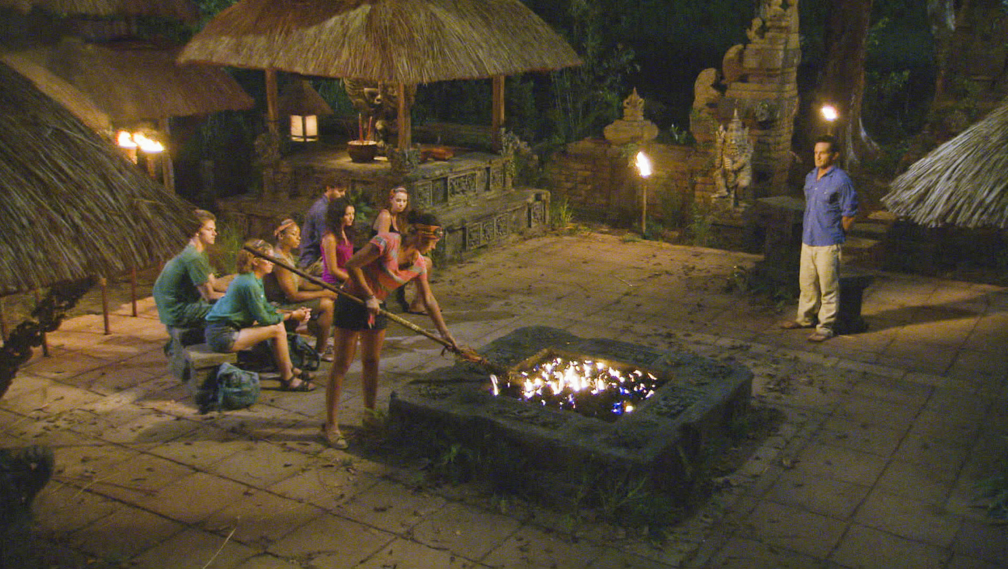 Tribal Council in Season 28 Episode 5
