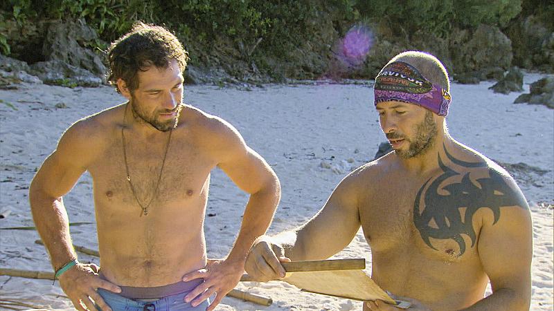 10. LJ McKanas and Tony Vlachos - Survivor