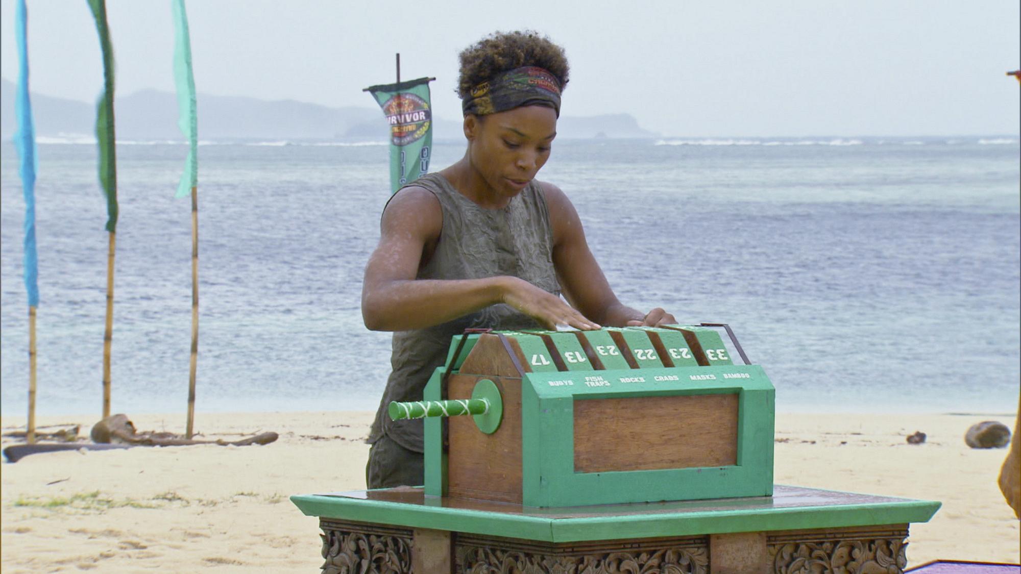 Tasha competes in Season 28 Episode 11
