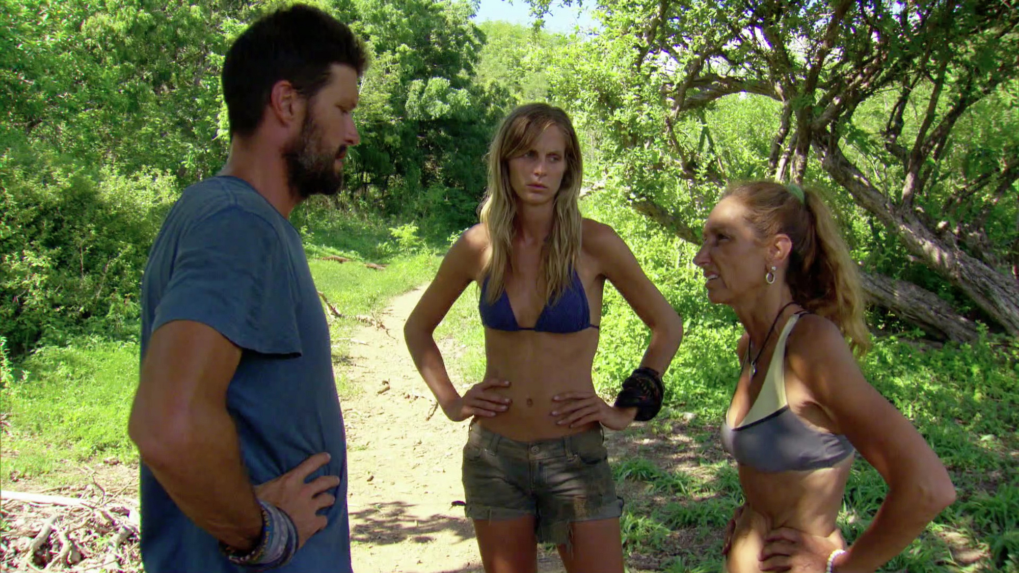 Mike, Sierra and Carolyn chat