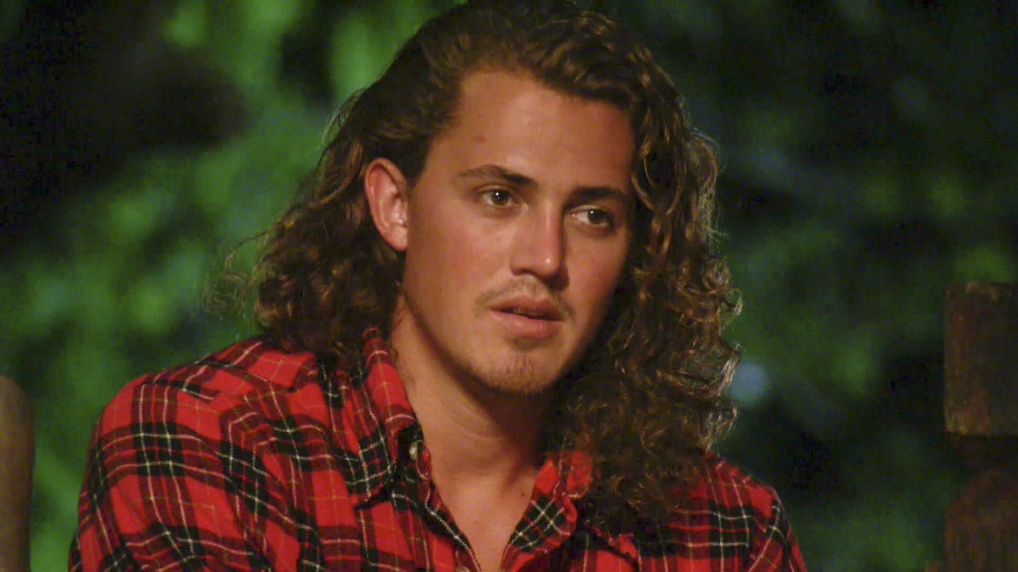 Joe has a word at Tribal Council