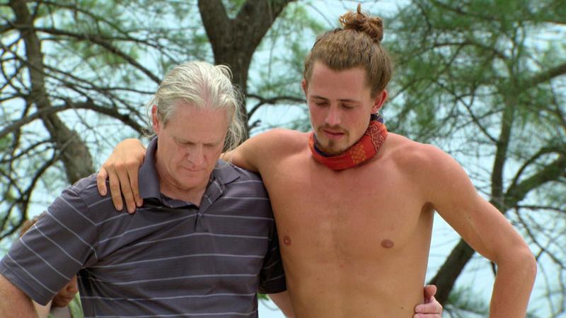 Joe and his father bond.