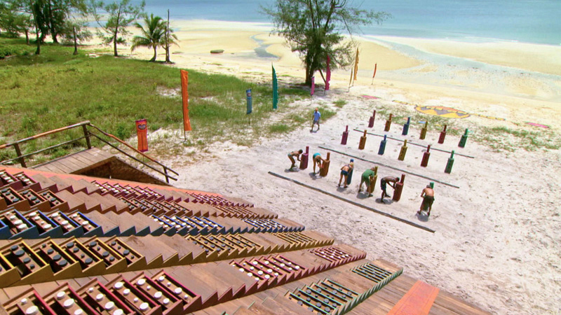 "It's all uphill in the ""Step On Up"" Individual Immunity Challenge."