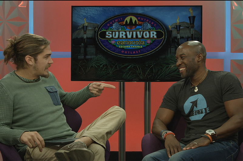 Survivor alum Malcolm Freberg sits down with Second Chance winner Jeremy Collins following his