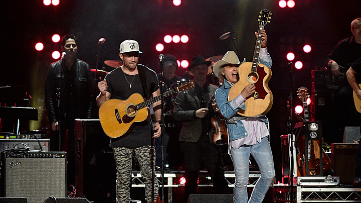 Sam Hunt and Dwight Yoakam