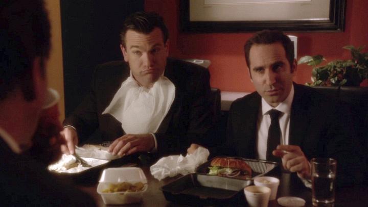 The Phony Tonys were really hungry.