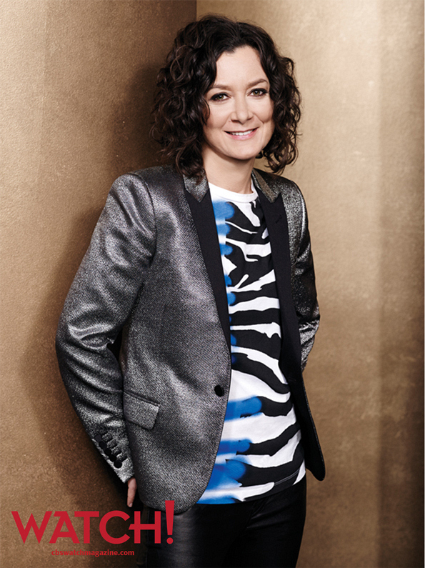 """""""We really love each other, and there really is no drama."""" -- Sara Gilbert."""