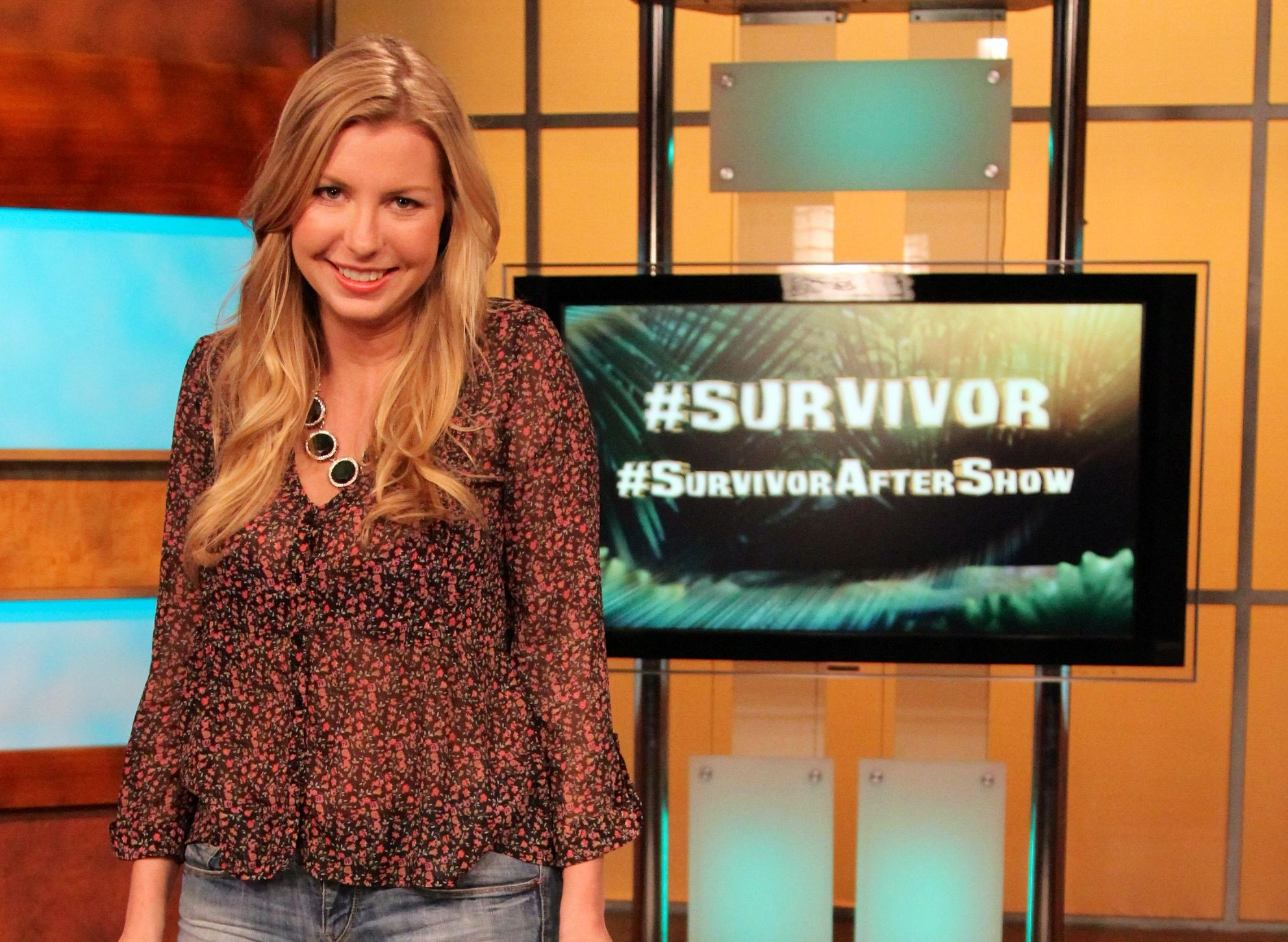 Katie on the Survivor After Show