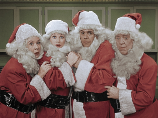 5. I Love Lucy Christmas Special