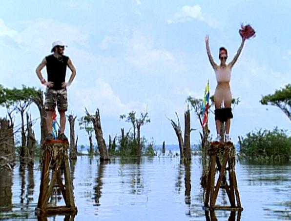 5. Will strip for peanut butter (Survivor: The Amazon)