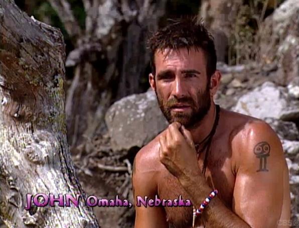 3. John vs. the coconuts (Survivor: Marquesas)