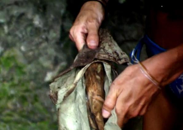 2. Jason fell for a stick (Survivor: Micronesia)