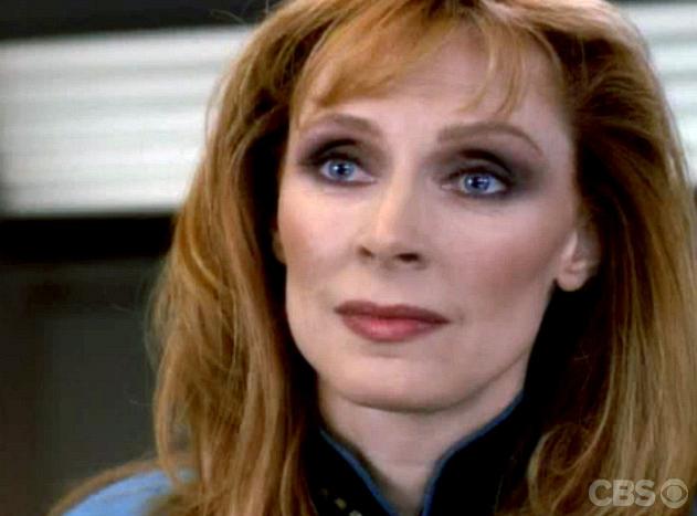 Dr. Beverly Crusher (Gates McFadden)