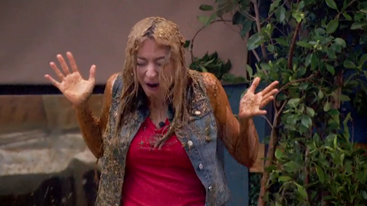 "Liz gets drenched in all that slime ​(""Grunge BoB,"" BoB)"