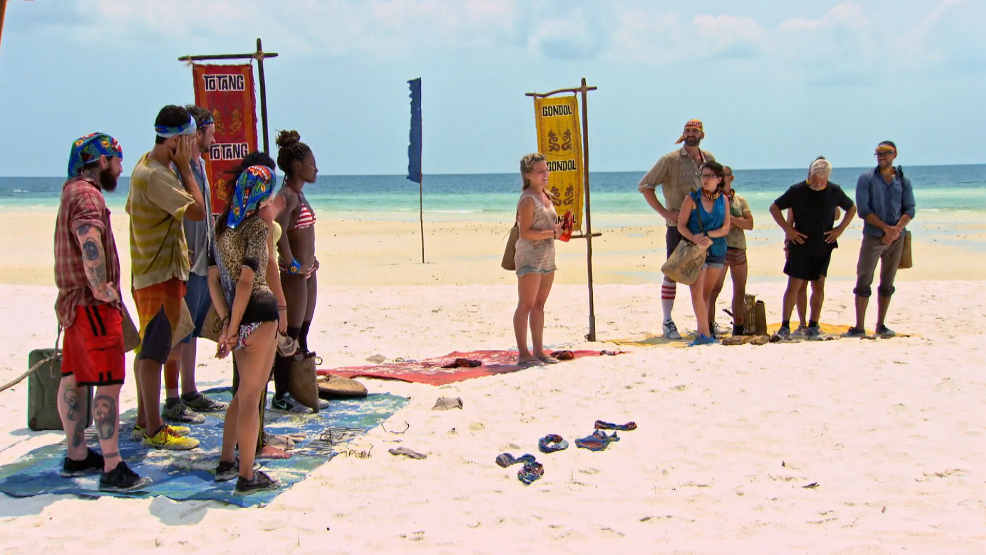 An unexpected twist forces all the remaining castaways to start fresh.