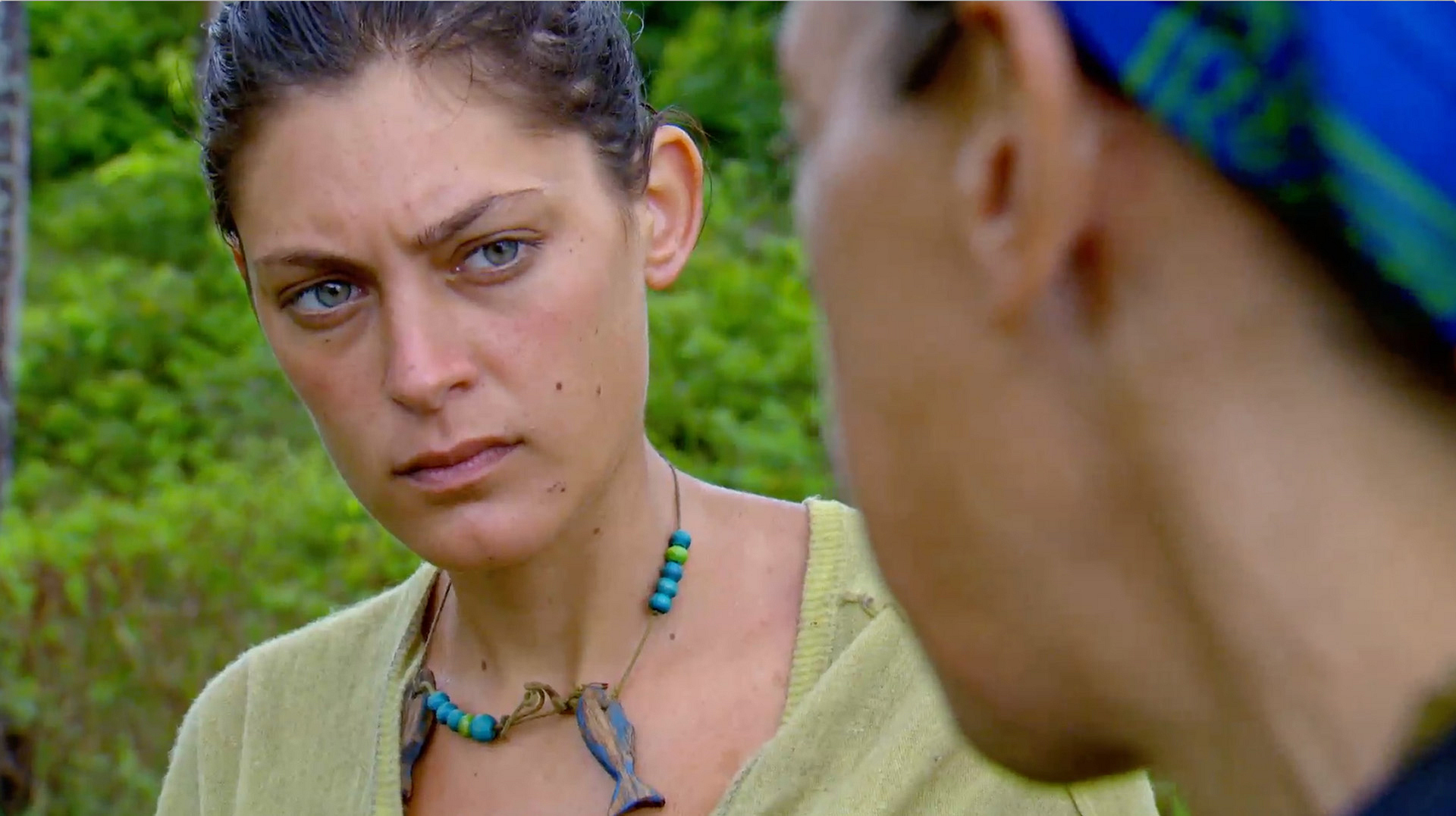 4. Michele blames herself for her tribe's loss.