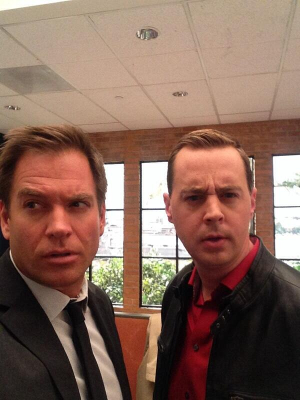 43. Michael Weatherly and Sean Murray - NCIS