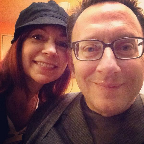 Carrie Preston and husband, Michael Emerson - Person of Interest